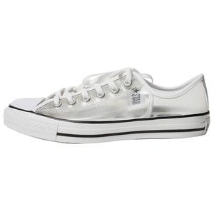 NWOT Clear Low Top Converse